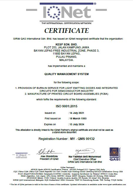 ISO 9001 IONET
